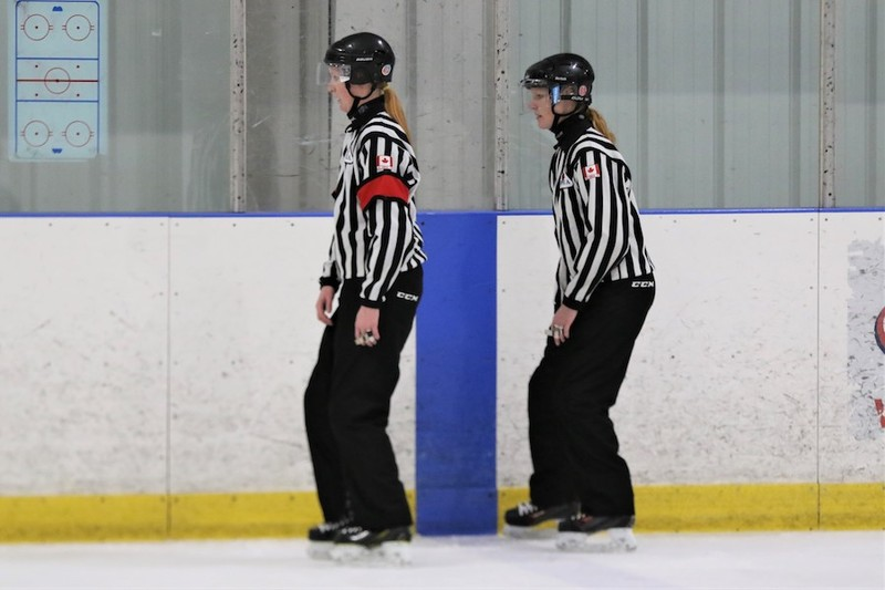 Content courtney    cassidy   ice hockey referees   sisters   pic  27