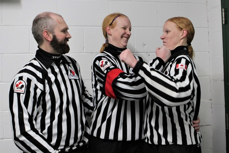 Content courtney    cassidy   ice hockey referees   sisters   pic  52
