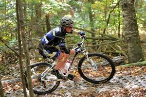 Thumb fall mtn biking   durham forest   barb a   oct 2017   pic  43